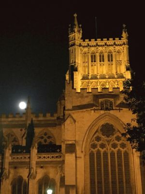Bristol Cathedral at Night